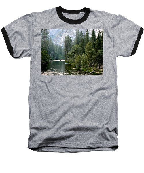 Baseball T-Shirt featuring the photograph Yosemite National Park by Laurel Powell