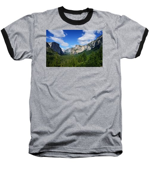 Yosemite National Park Baseball T-Shirt
