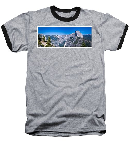 Yosemite Valley From Glacier Point Baseball T-Shirt