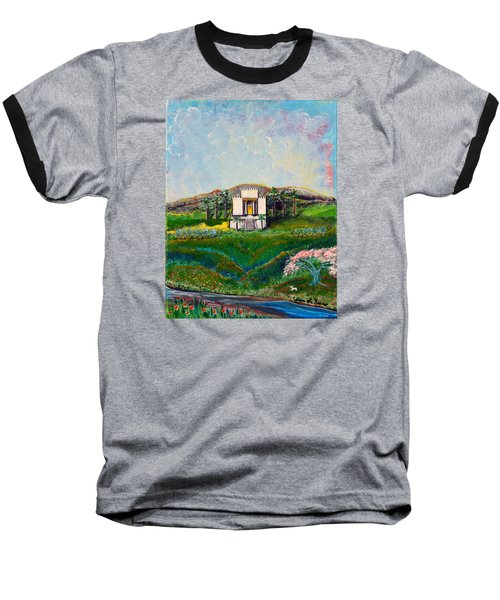 You Are The Temple Of God Baseball T-Shirt by Cassie Sears