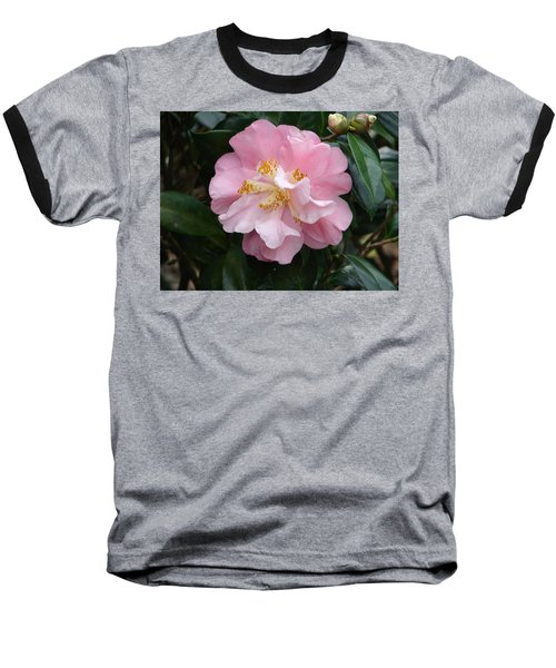 Baseball T-Shirt featuring the photograph You Make Me Blush by Lew Davis
