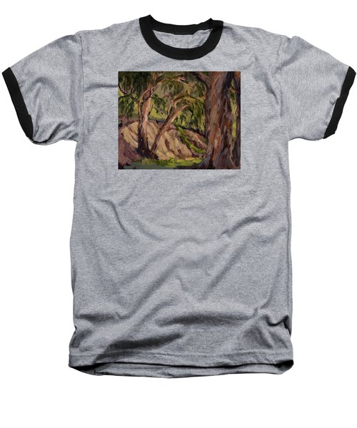Young And Old Eucalyptus Baseball T-Shirt by Jane Thorpe