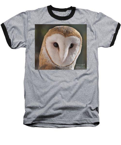 Young Barn Owl Baseball T-Shirt