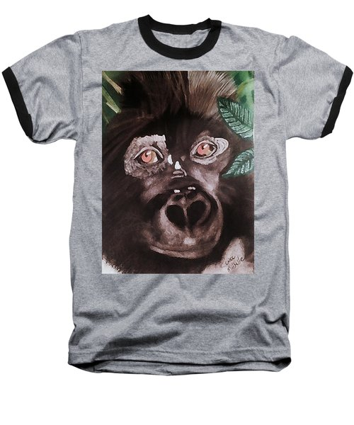Young Gorilla Baseball T-Shirt