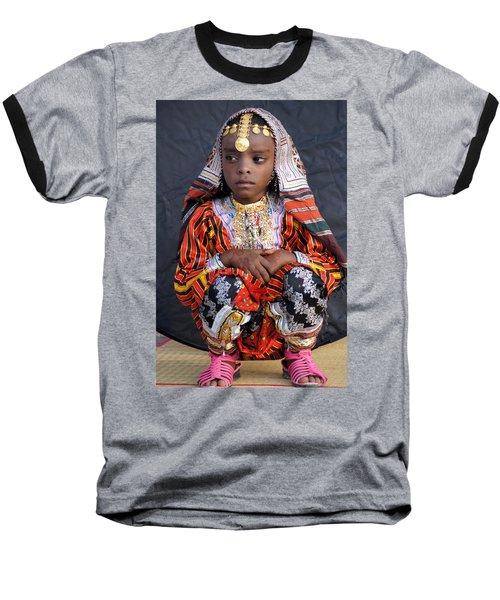 Young Omani Girl Baseball T-Shirt
