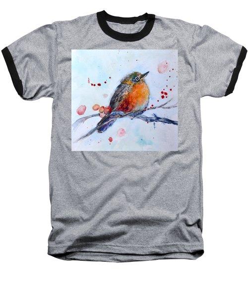 Young Robin Baseball T-Shirt