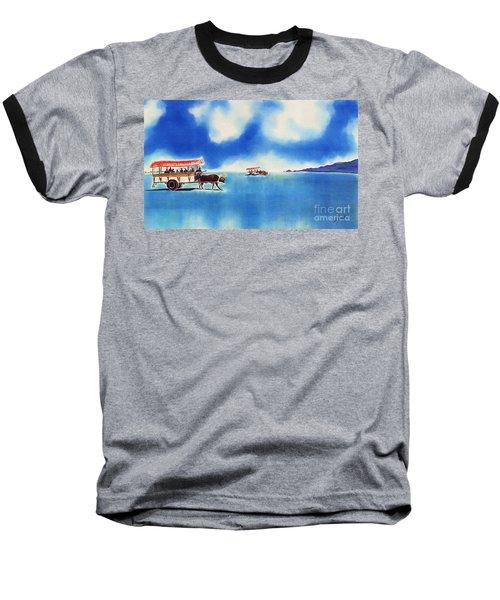 Yubu Island-water Buffalo Taxi  Baseball T-Shirt