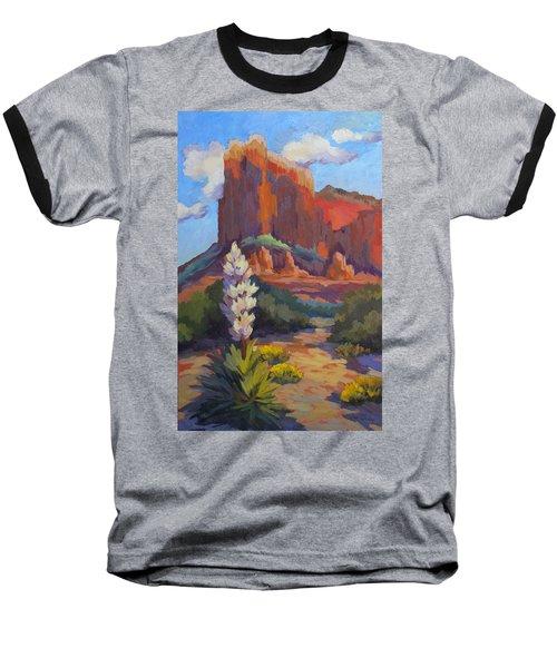 Yucca At Sedona Baseball T-Shirt