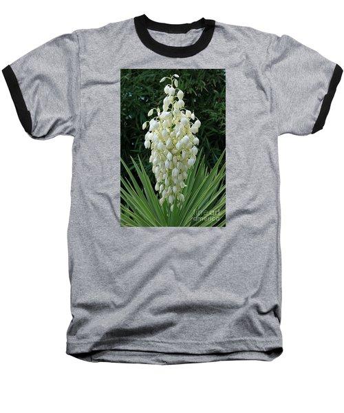 Yucca Blossoms Baseball T-Shirt