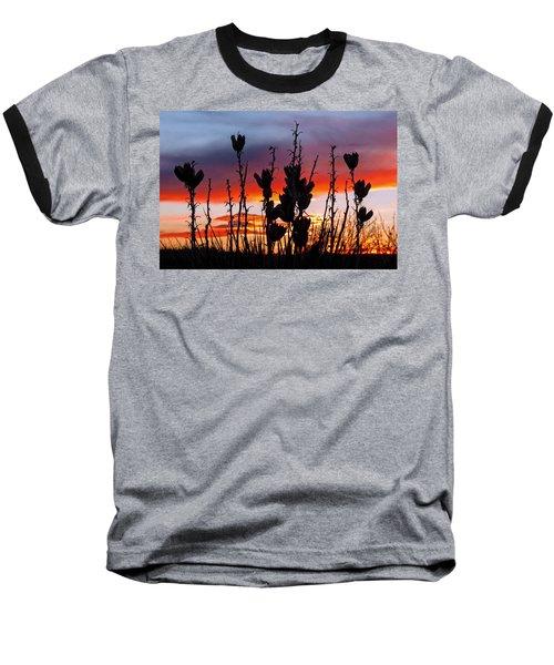 Yucca Sunset Baseball T-Shirt