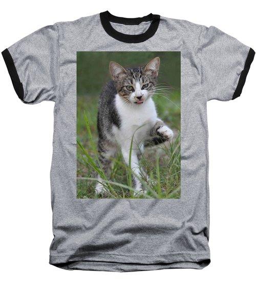 Yuck Baseball T-Shirt by Charlotte Schafer