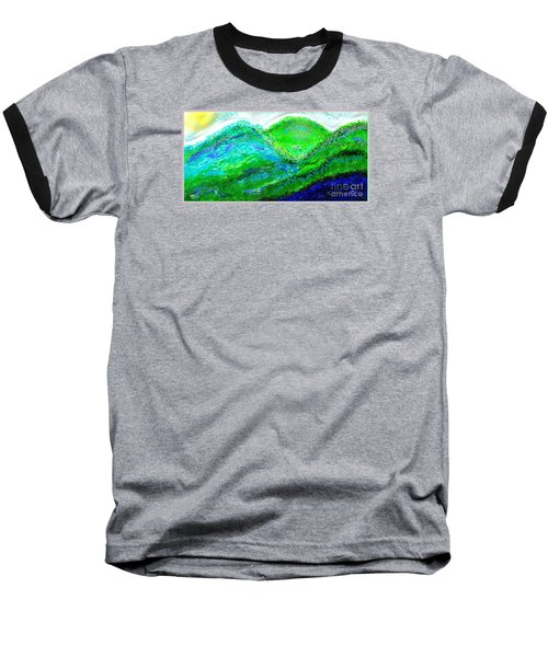 Van Gogh Sunrise Baseball T-Shirt