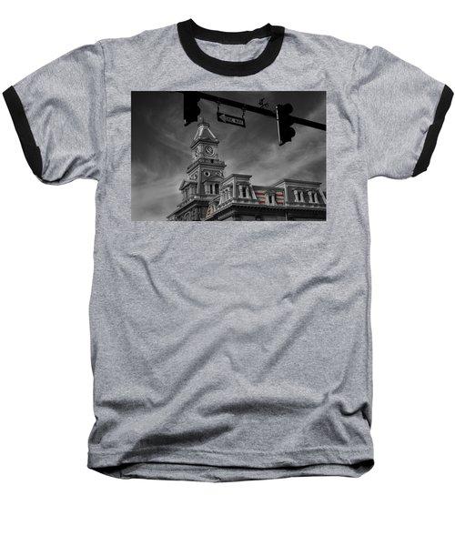 Zanesville Oh Courthouse Baseball T-Shirt