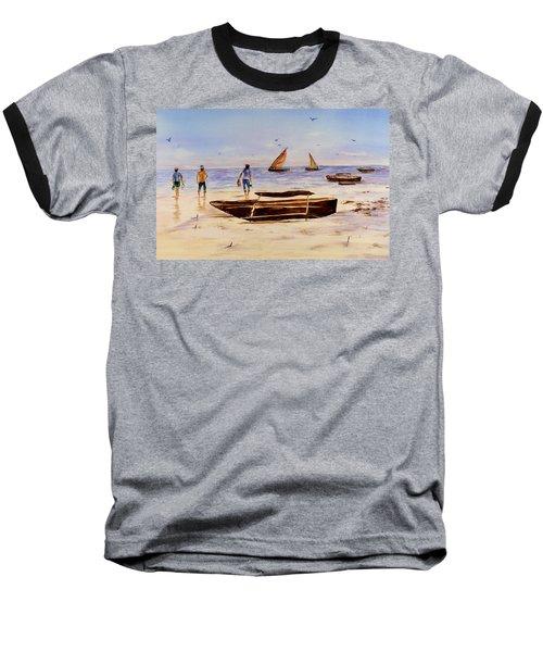 Zanzibar Forzani Beach Baseball T-Shirt
