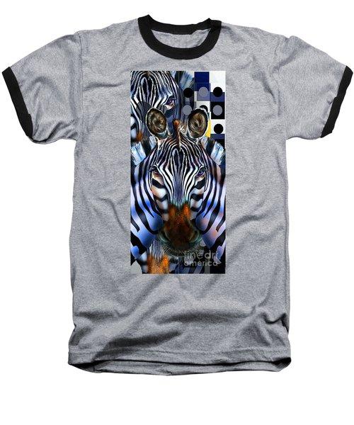 Zebra Dreams Baseball T-Shirt