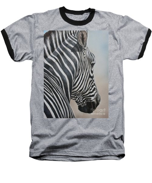Zebra Look Baseball T-Shirt