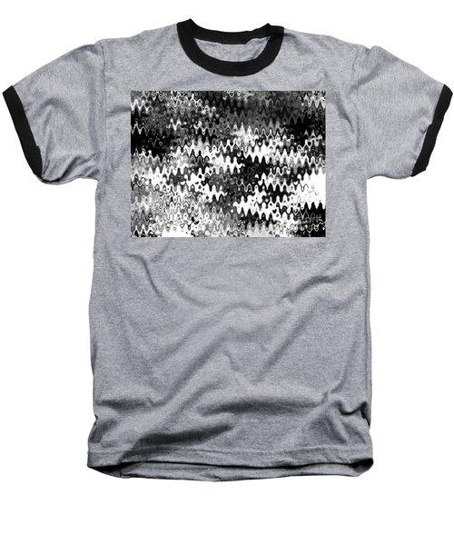 Baseball T-Shirt featuring the digital art Zebras by Anita Lewis