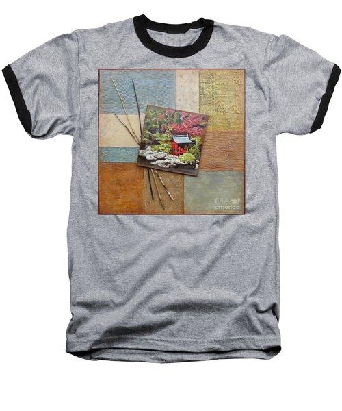Zen Tranquility Baseball T-Shirt