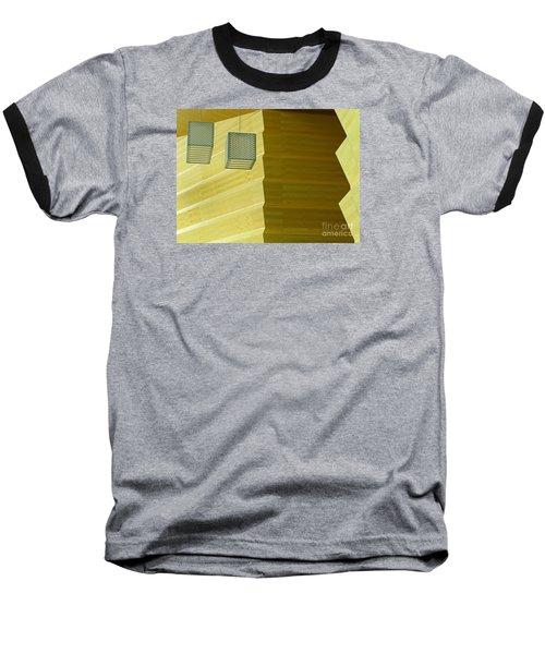 Zig-zag Baseball T-Shirt by Ann Horn