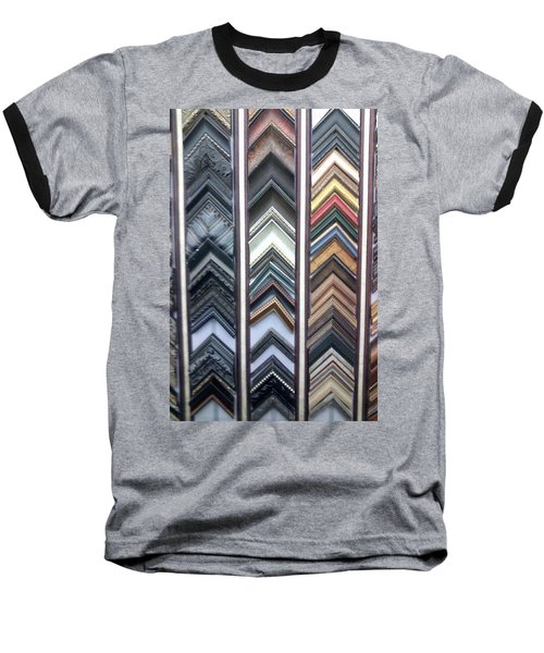 Baseball T-Shirt featuring the photograph Zig Zags by Fortunate Findings Shirley Dickerson