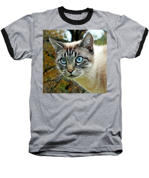 Zing The Cat Upclose Baseball T-Shirt