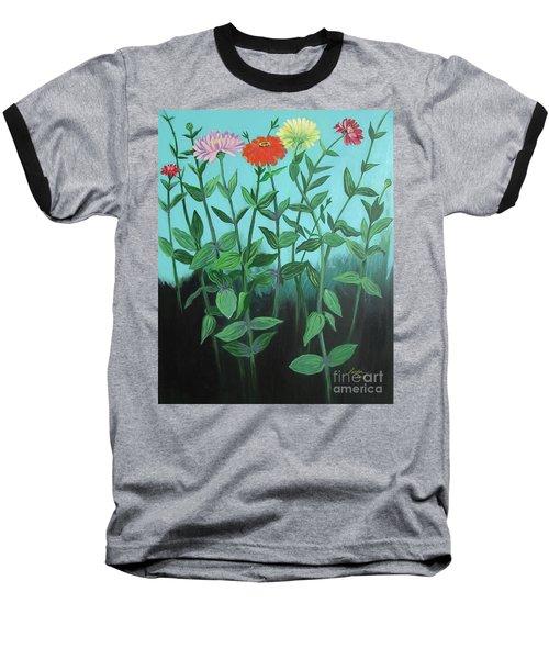 Zinnia Parade Baseball T-Shirt