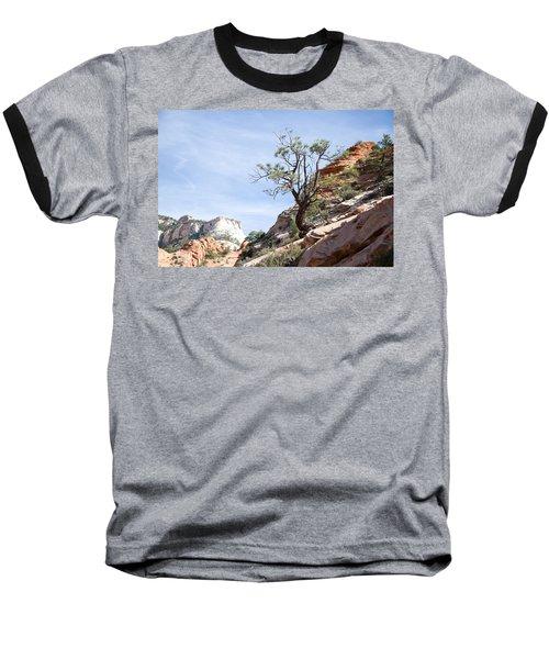 Zion National Park 1 Baseball T-Shirt