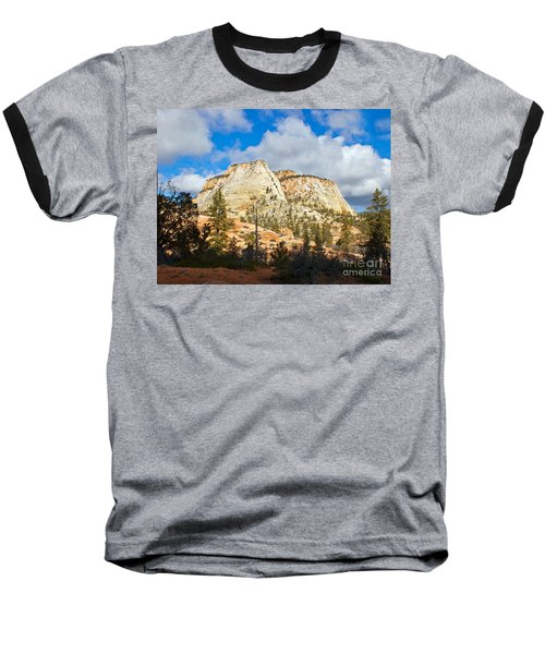 Zion National Park Baseball T-Shirt