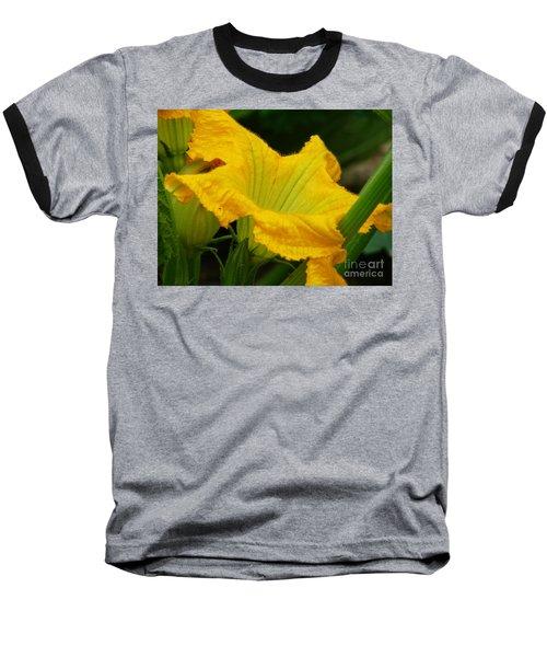 Baseball T-Shirt featuring the photograph Zucchini Yellow by Lew Davis