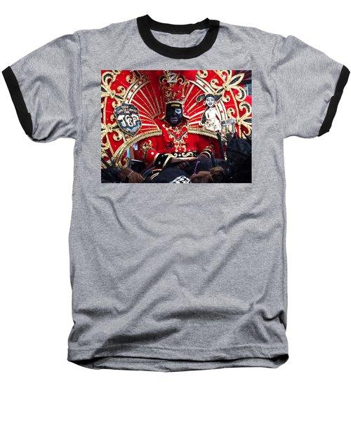 Zulu Mardi Gras Baseball T-Shirt