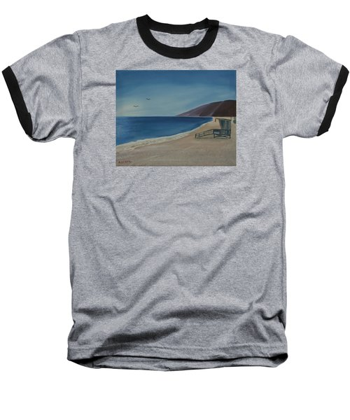Zuma Lifeguard Tower Baseball T-Shirt