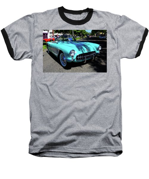 55 Corvette Baseball T-Shirt