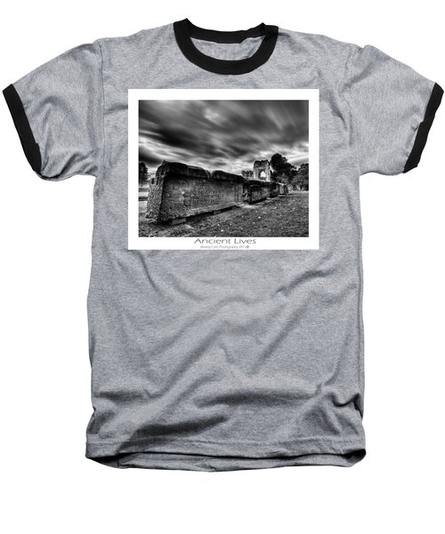 Baseball T-Shirt featuring the photograph  Ancient Lives by Beverly Cash