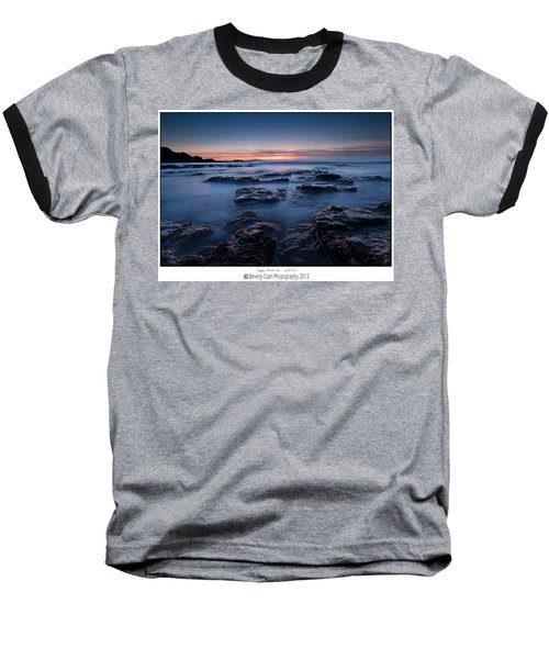 Blue Dusk Baseball T-Shirt