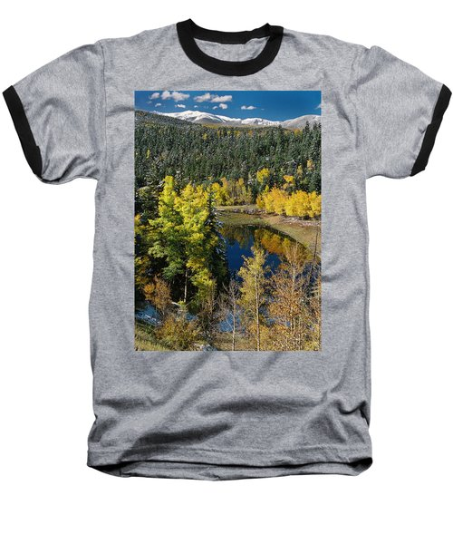 Fall Color On Bobcat Pass Baseball T-Shirt