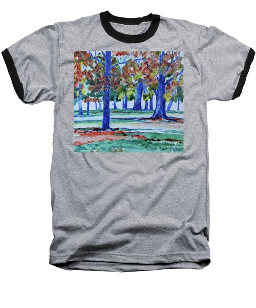 Fall In My Backyard Baseball T-Shirt