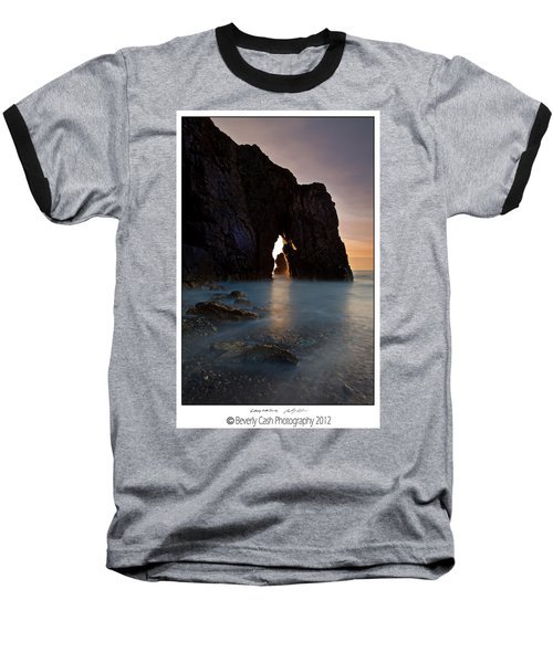 Gateway To The Sun Baseball T-Shirt by Beverly Cash