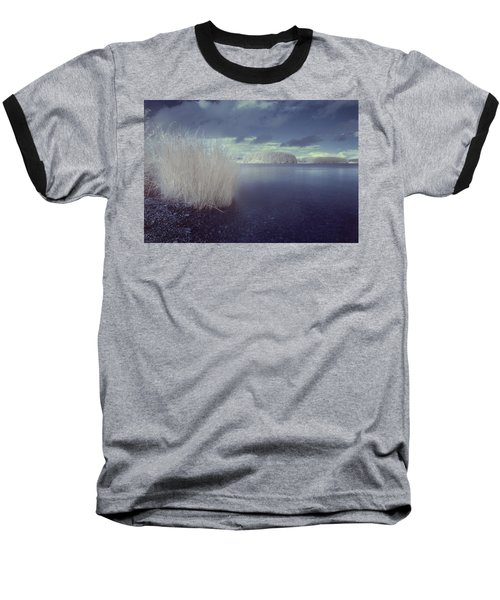 Baseball T-Shirt featuring the photograph  Infrared At Llyn Brenig by Beverly Cash