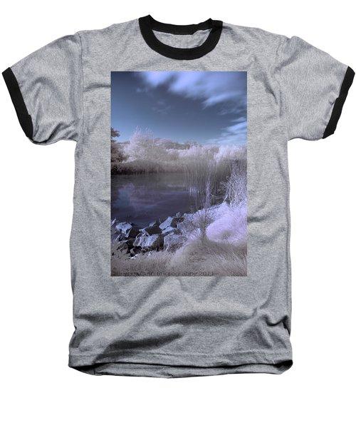 Infrared Pond Baseball T-Shirt