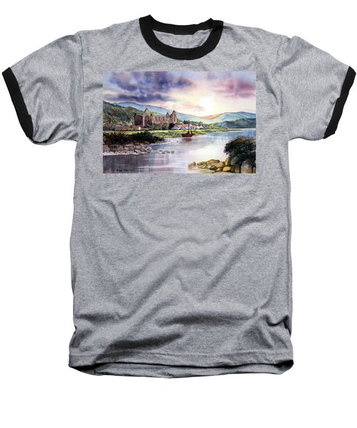 Late Evening At Tintern Abbey Baseball T-Shirt