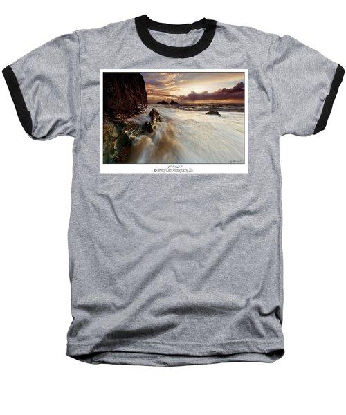 Llanddwyn Island Beach Baseball T-Shirt