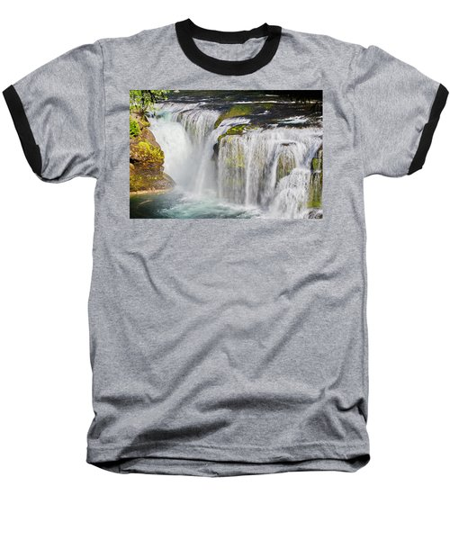 Lower Falls On The Upper Lewis River Baseball T-Shirt