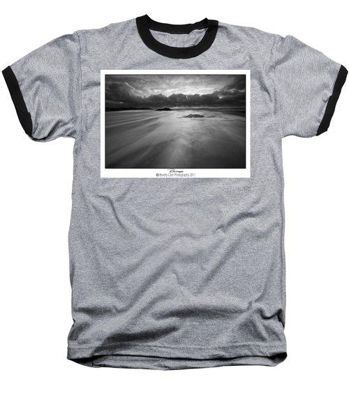 Rhosneigr Baseball T-Shirt by Beverly Cash