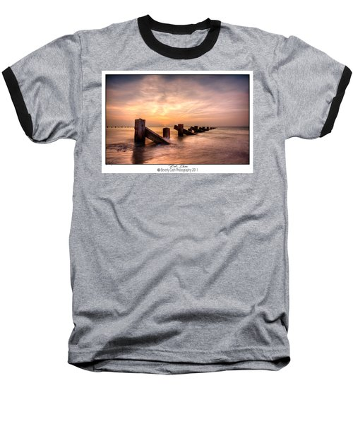 Rich Skies - Abermaw Baseball T-Shirt by Beverly Cash