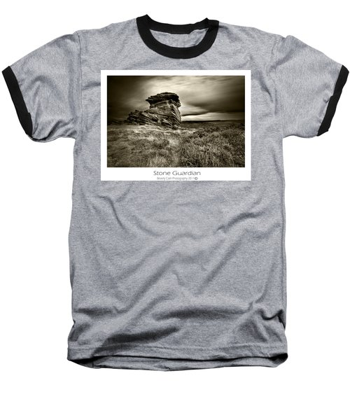 Baseball T-Shirt featuring the photograph  Stone Guardian by Beverly Cash