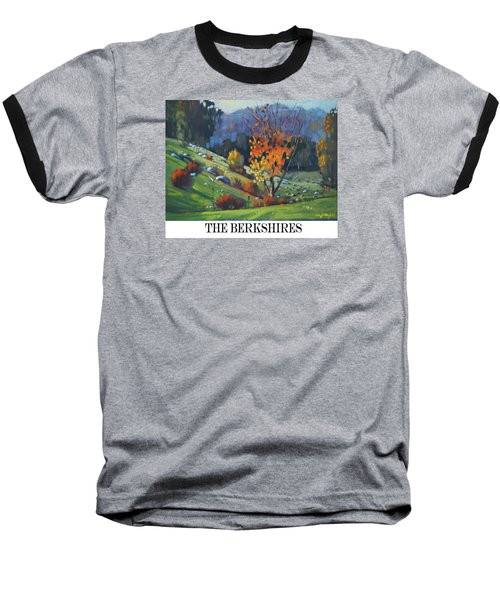 The Berkshires Baseball T-Shirt by Len Stomski