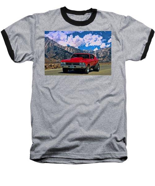1968 Chevelle Super Sport Baseball T-Shirt by Tim McCullough