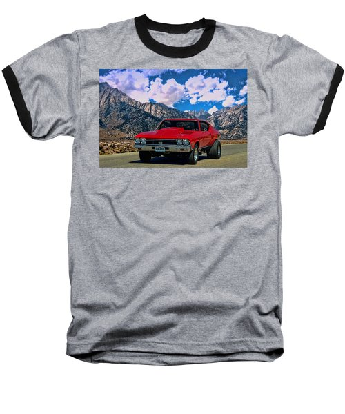1968 Chevelle Super Sport Baseball T-Shirt