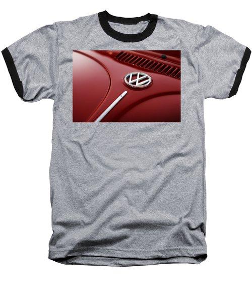 Baseball T-Shirt featuring the photograph 1973 Volkswagen Beetle by Gordon Dean II