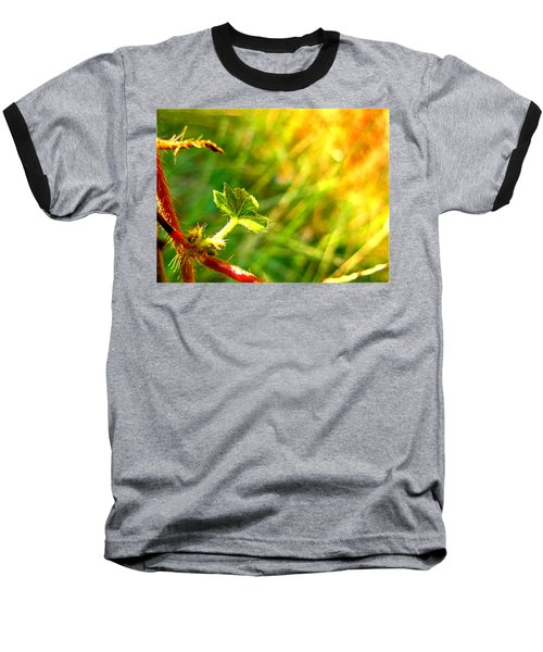 Baseball T-Shirt featuring the photograph A New Morning by Debbie Portwood